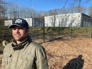 Flüchtlingscontainer am Wiesengrund